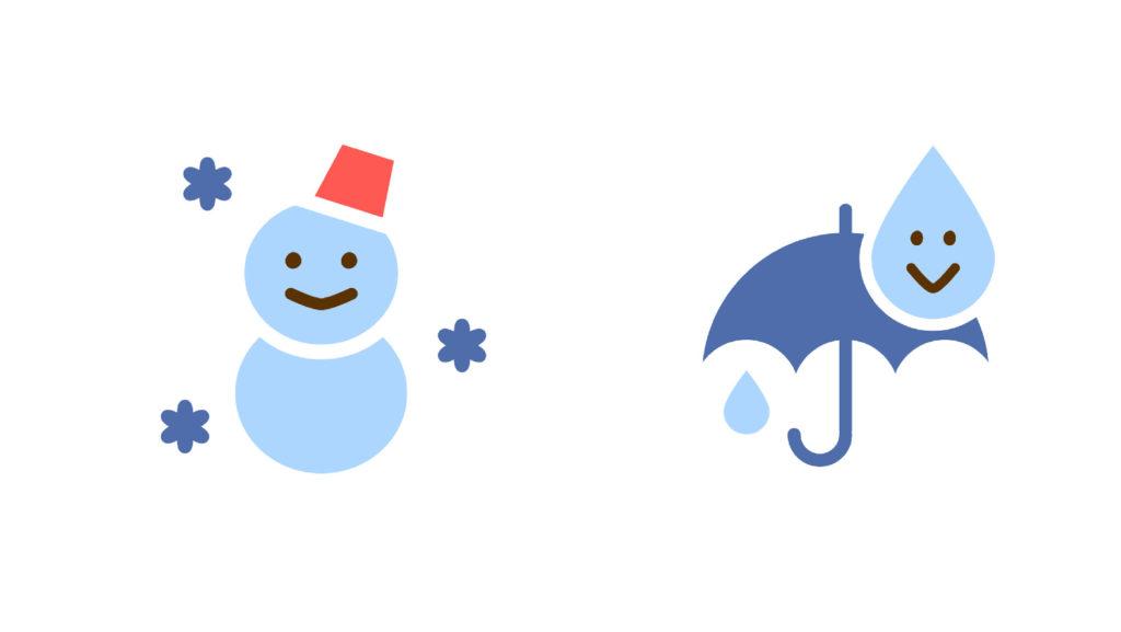 2.天候の影響を受ける